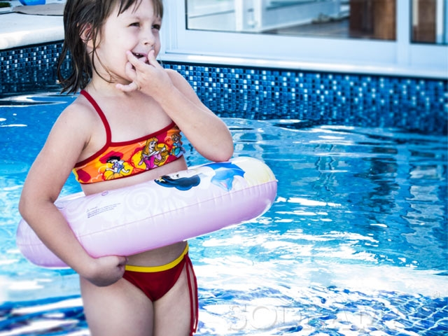 Construir uma piscina infantil