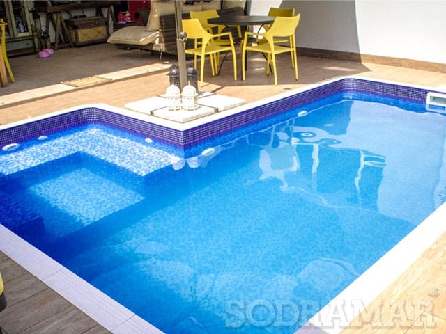 manutenção da piscina