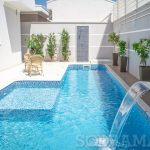 Quais cuidados com a piscina devo ter durante a construção?