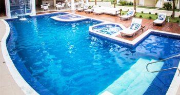 construindo uma piscina