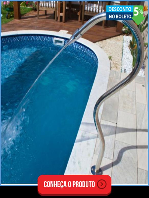 cascata para piscina