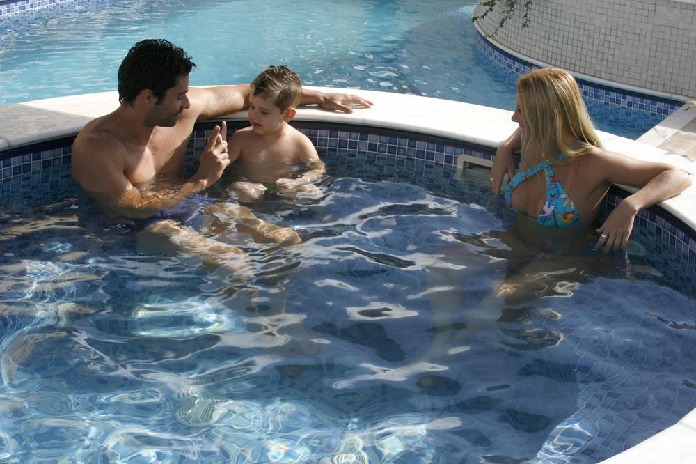 piscina em casa