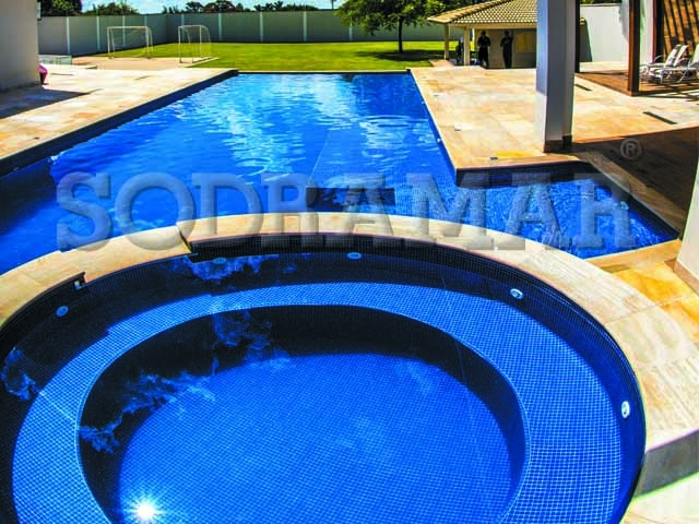 limpeza da piscina