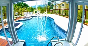 piscina com sauna