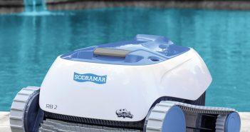 robô aspirador de piscina