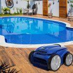 Quer praticidade? Conheça o robô para limpeza de piscina