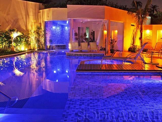 construir uma piscina