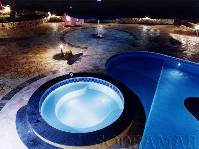 LED para piscina