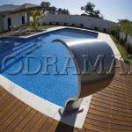 4 modelos de cascatas que vão modernizar a sua piscina