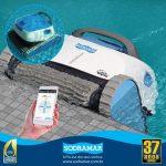 Arquiteto projetista: saiba como um robô de limpeza de piscinas vai trazer facilidade ao dia a dia de seu cliente
