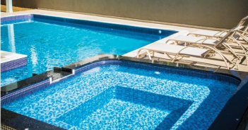 piscina construída