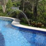Como aquecer uma piscina de um parque aquático?