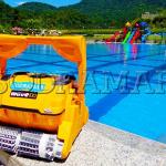 Como um robô para limpeza da piscina pode otimizar o funcionamento de uma academia de natação?