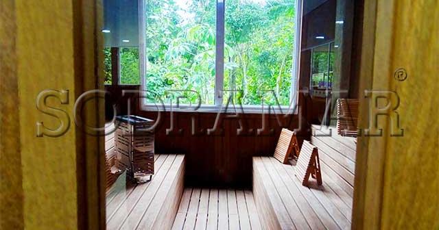 3 maneiras de construir uma sauna dos sonhos para sua casa